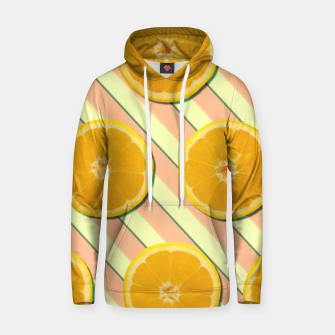 Oranges and stripes Hoodie thumbnail image