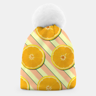 Oranges and stripes Beanie thumbnail image