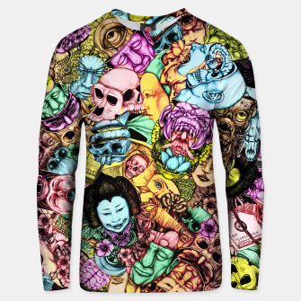 Thumbnail image of Men and Mutants Unisex sweater, Live Heroes