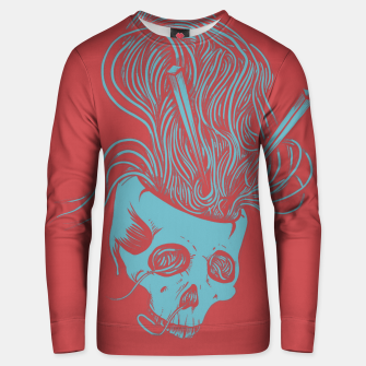 Thumbnail image of Noodles skull color Unisex sweater, Live Heroes