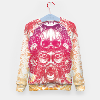 Thumbnail image of Oracle Gradient Kid's sweater, Live Heroes