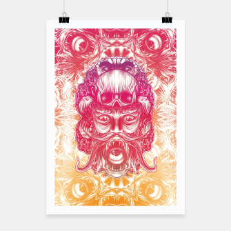 Thumbnail image of Oracle Gradient Poster, Live Heroes