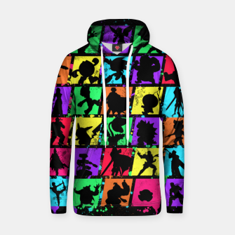Thumbnail image of Super Smash Bros Hoodie, Live Heroes