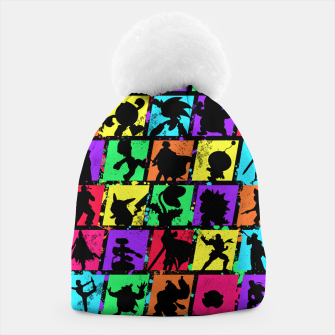 Thumbnail image of Super Smash Bros Beanie, Live Heroes