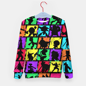 Thumbnail image of Super Smash Bros Kid's sweater, Live Heroes