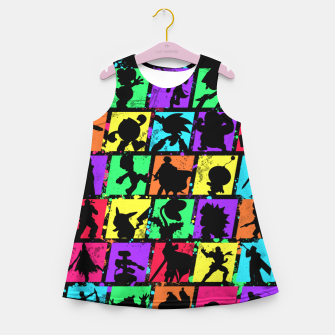 Thumbnail image of Super Smash Bros Girl's summer dress, Live Heroes