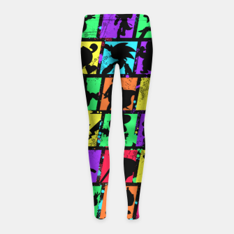Thumbnail image of Super Smash Bros Girl's leggings, Live Heroes
