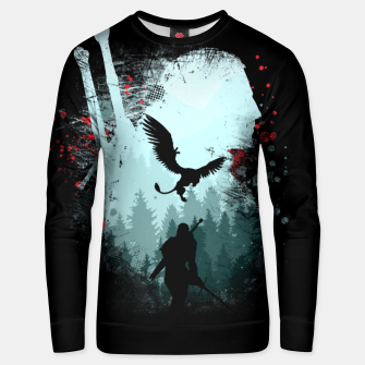 Thumbnail image of Silent Hunter - The Witcher Unisex sweater, Live Heroes