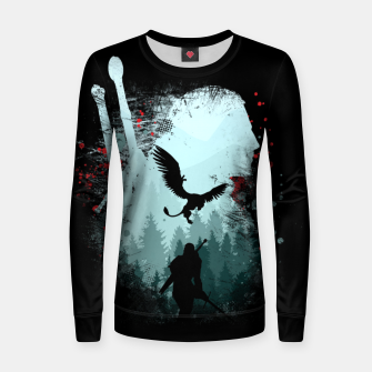 Thumbnail image of Silent Hunter - The Witcher Women sweater, Live Heroes