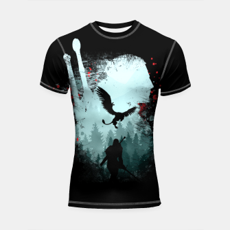 Thumbnail image of Silent Hunter - The Witcher Shortsleeve rashguard, Live Heroes
