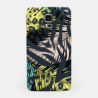 Thumbnail image of Modern abstract Animal Print Handyhülle für Samsung, Live Heroes