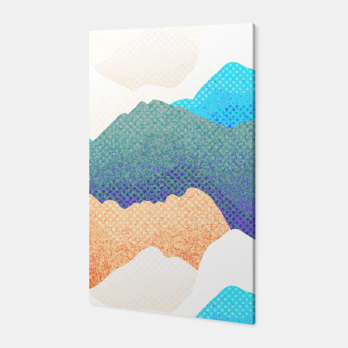 Image of Blue mountain range  Canvas - Live Heroes