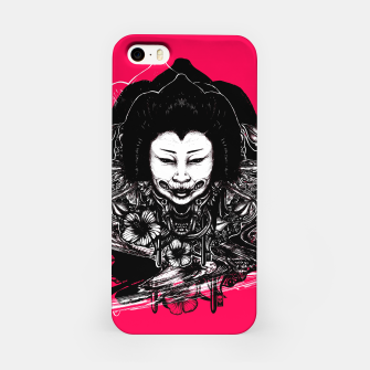 Miniatur Gueisha Mixed  iPhone Case, Live Heroes