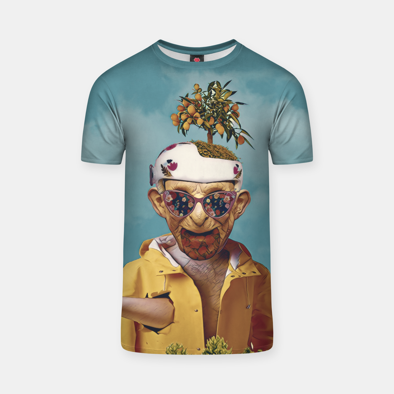 Image of Burger attack T-shirt - Live Heroes