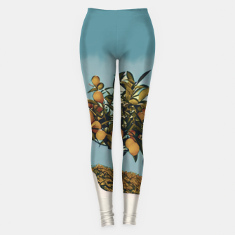 Thumbnail image of Burger attack Leggings, Live Heroes