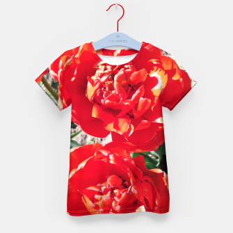 Thumbnail image of tulips Kid's t-shirt, Live Heroes