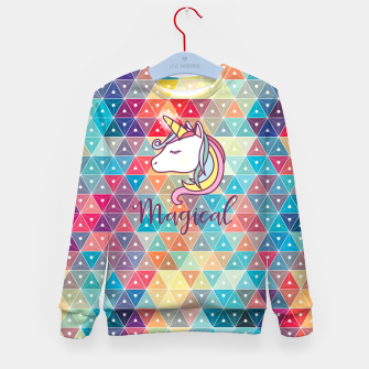 Unicorn  Kid's sweater thumbnail image