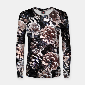Thumbnail image of Pine cones Women sweater, Live Heroes