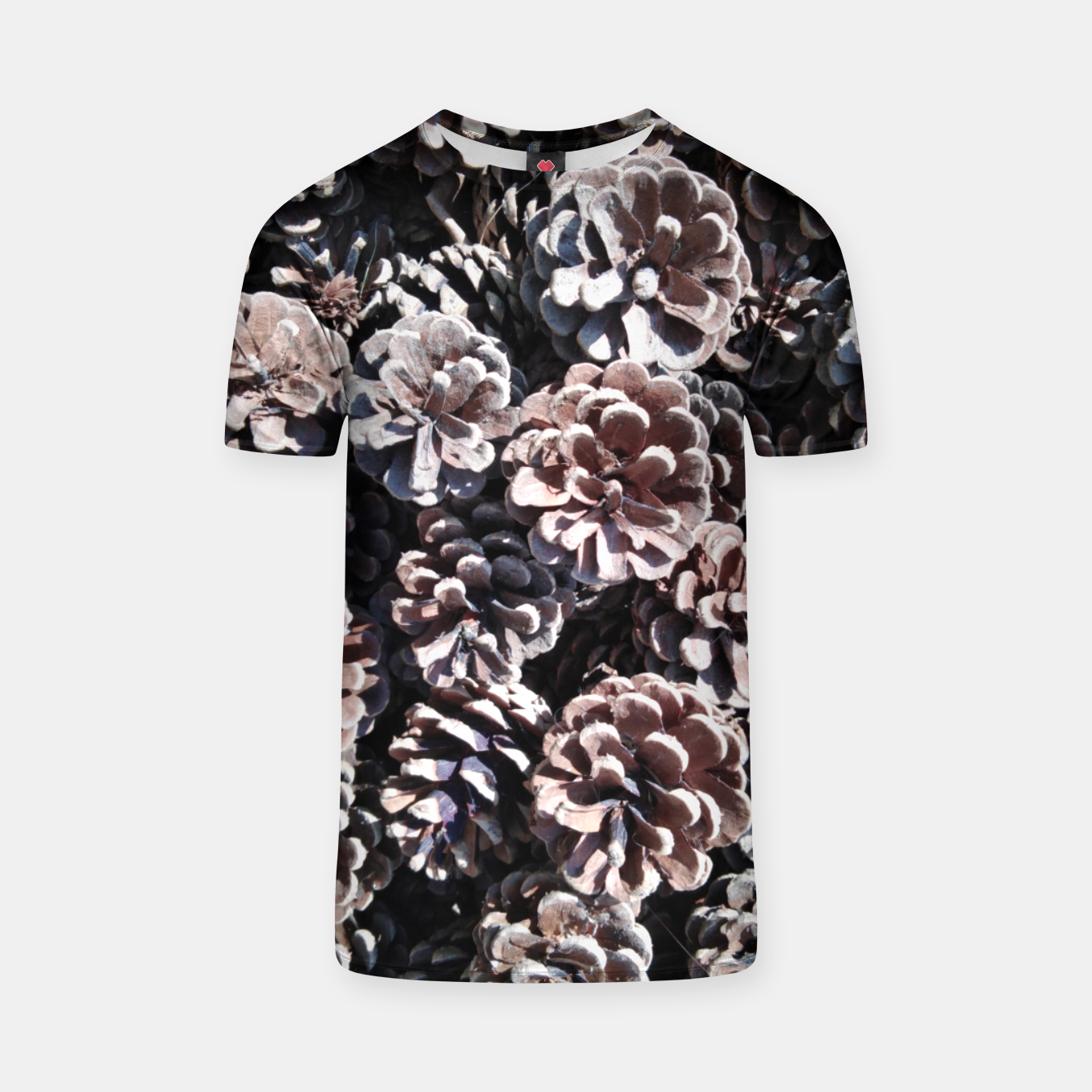 Image of Pine cones T-shirt - Live Heroes