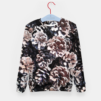 Thumbnail image of Pine cones Kid's sweater, Live Heroes