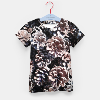 Thumbnail image of Pine cones Kid's t-shirt, Live Heroes