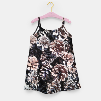 Thumbnail image of Pine cones Girl's dress, Live Heroes