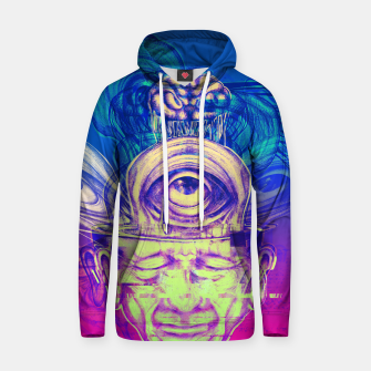 Thumbnail image of Where is my mind glitch? Hoodie, Live Heroes
