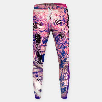 Thumbnail image of Vision Glitch Sweatpants, Live Heroes