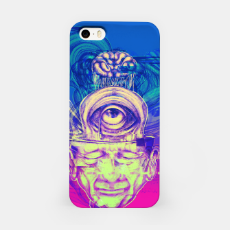 Thumbnail image of Where is my mind glitch? iPhone Case, Live Heroes