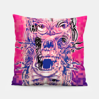 Thumbnail image of Vision Glitch Pillow, Live Heroes