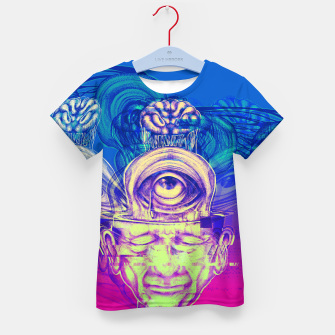 Thumbnail image of Where is my mind glitch? Kid's t-shirt, Live Heroes