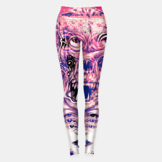 Thumbnail image of Vision Glitch Leggings, Live Heroes