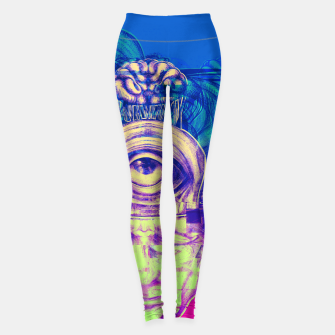 Thumbnail image of Where is my mind glitch? Leggings, Live Heroes