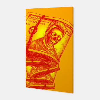 Thumbnail image of Dollars Canvas, Live Heroes