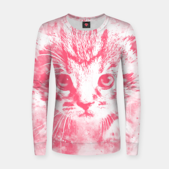 Thumbnail image of baby cat wspw Women sweater, Live Heroes