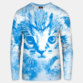 Thumbnail image of baby cat wswb Unisex sweater, Live Heroes