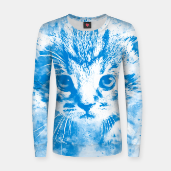 Thumbnail image of baby cat wswb Women sweater, Live Heroes