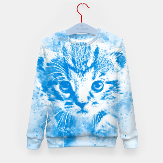 Thumbnail image of baby cat wswb Kid's sweater, Live Heroes
