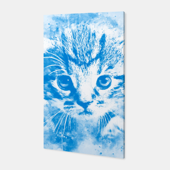 Thumbnail image of baby cat wswb Canvas, Live Heroes