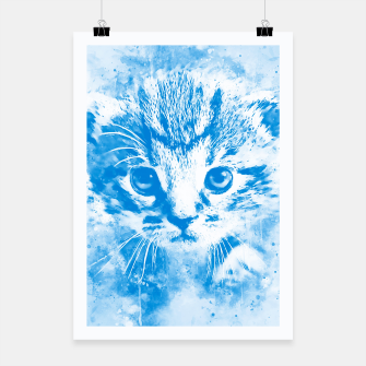 Thumbnail image of baby cat wswb Poster, Live Heroes