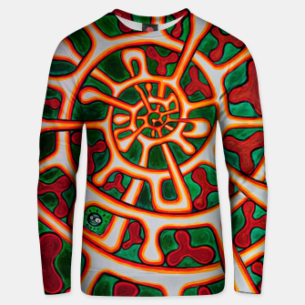Thumbnail image of AROMA SPIRAL Unisex sweater, Live Heroes