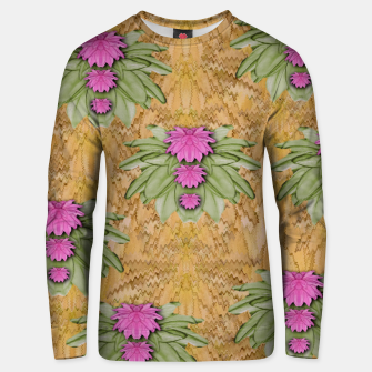 Miniatur lotus bloom in the sacred soft warm sea of love Unisex sweater, Live Heroes