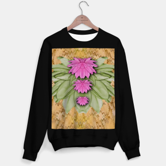 Miniatur lotus bloom in the sacred soft warm sea of love Sweater regular, Live Heroes