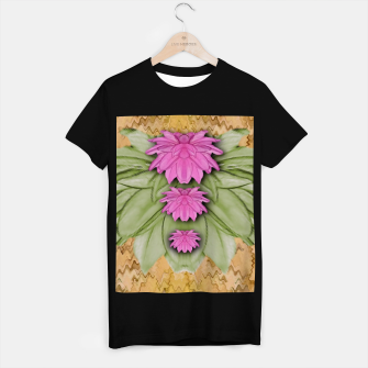 Miniatur lotus bloom in the sacred soft warm sea of love T-shirt regular, Live Heroes