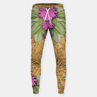 Miniatur lotus bloom in the sacred soft warm sea of love Sweatpants, Live Heroes
