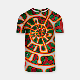 Thumbnail image of AROMA SPIRAL T-shirt, Live Heroes