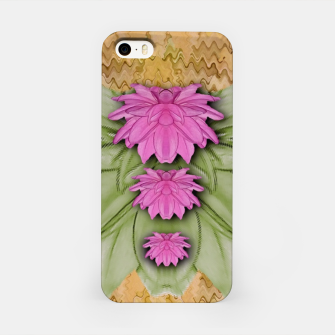Miniatur lotus bloom in the sacred soft warm sea of love iPhone Case, Live Heroes