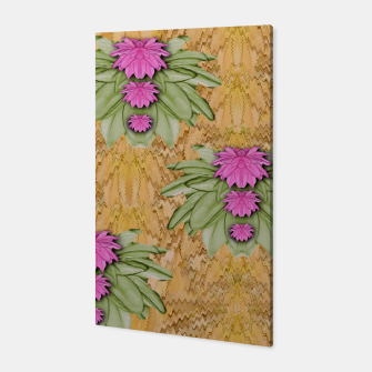 Miniatur lotus bloom in the sacred soft warm sea of love Canvas, Live Heroes