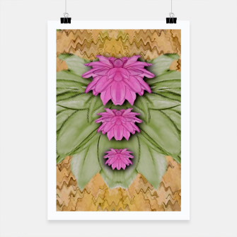 Miniatur lotus bloom in the sacred soft warm sea of love Poster, Live Heroes