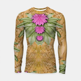 Thumbnail image of lotus bloom in the sacred soft warm sea of love Longsleeve rashguard , Live Heroes